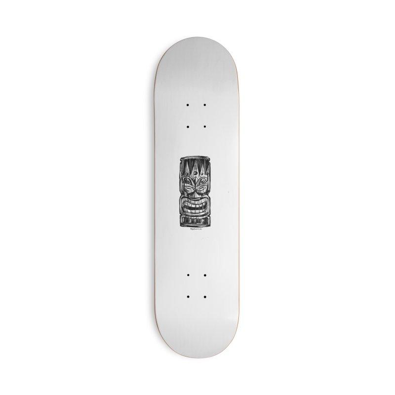 Tiki Accessories Skateboard by Magichammer Art By Russ Fagle Shop