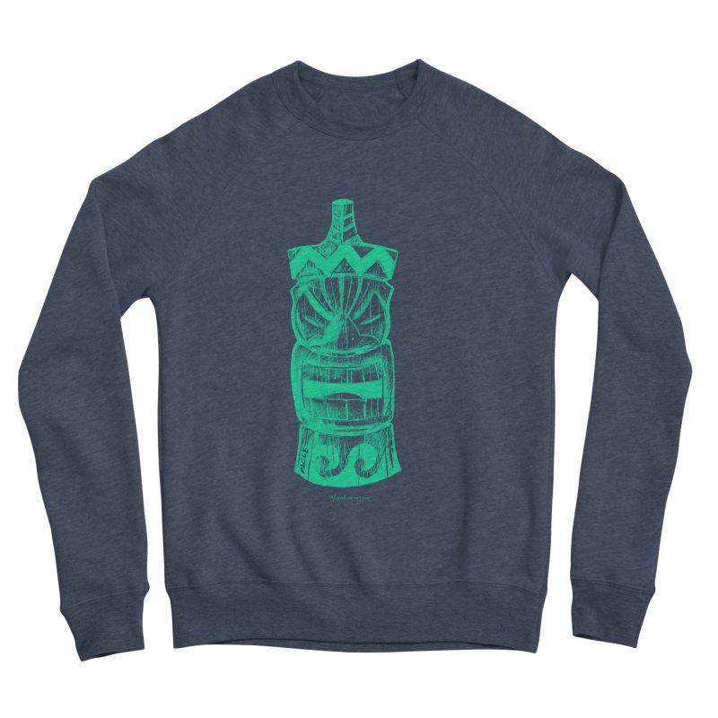 Teal Tiki Women's Sweatshirt by Magichammer Art By Russ Fagle Shop