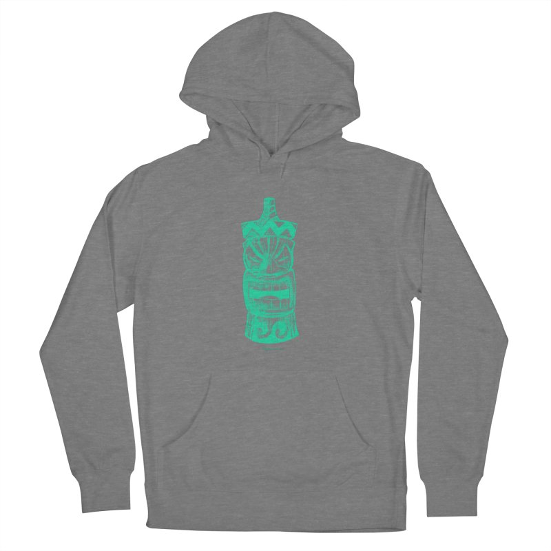 Teal Tiki Women's Pullover Hoody by Magichammer Art By Russ Fagle Shop