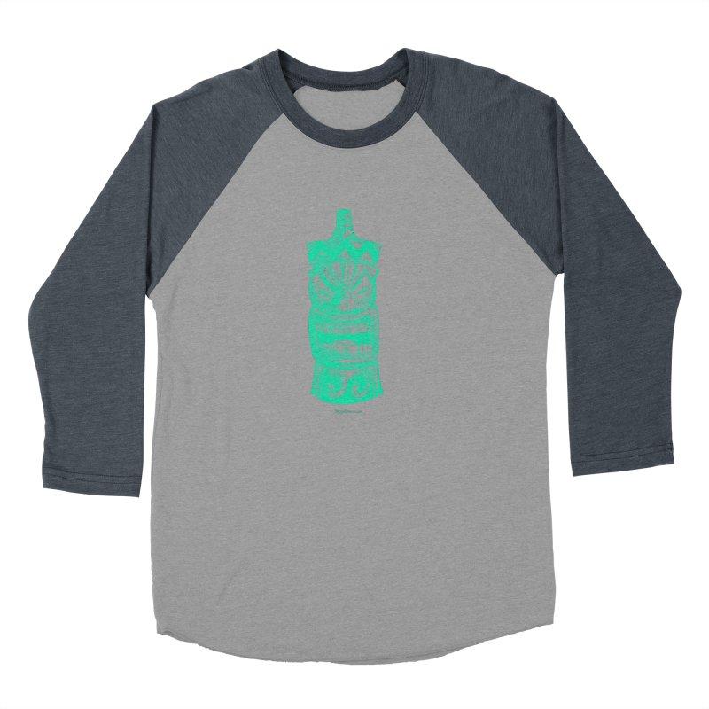 Teal Tiki Men's Longsleeve T-Shirt by Magichammer Art By Russ Fagle Shop