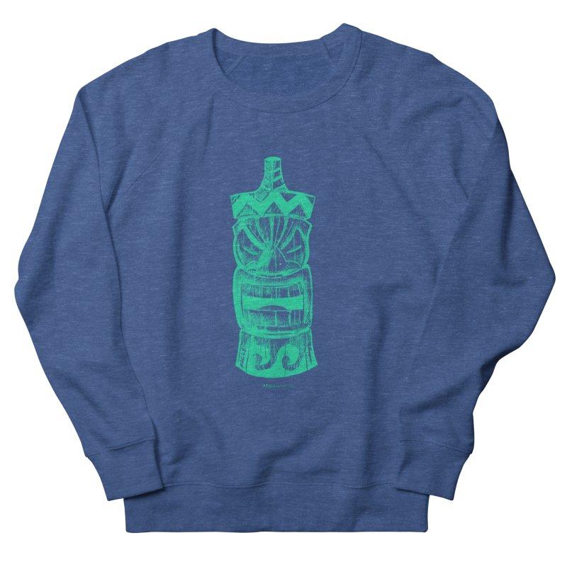 Teal Tiki Men's Sweatshirt by Magichammer Art By Russ Fagle Shop