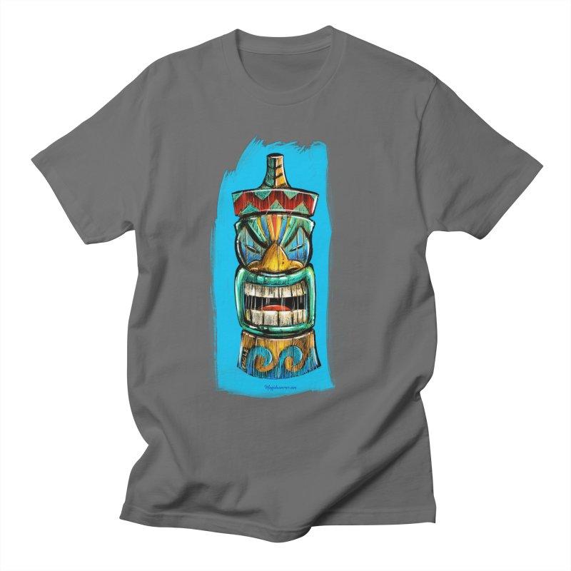 Ocean Wave Tiki Men's T-Shirt by Magichammer Art By Russ Fagle Shop