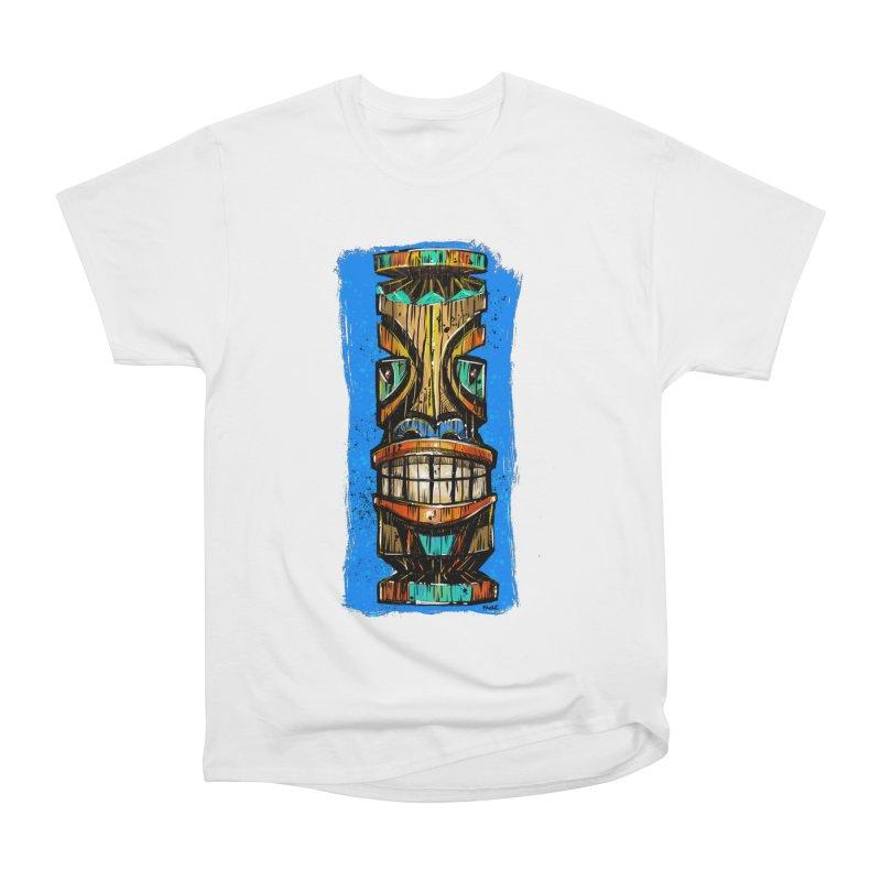 Teal Eye Tiki Women's T-Shirt by Magichammer Art By Russ Fagle Shop