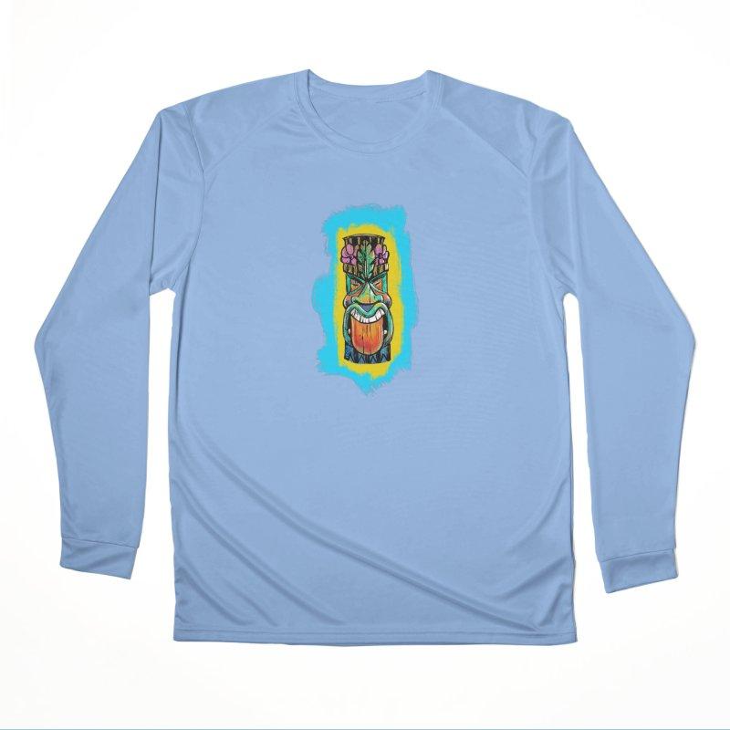 Tongue Tiki Men's Longsleeve T-Shirt by Magichammer Art By Russ Fagle Shop