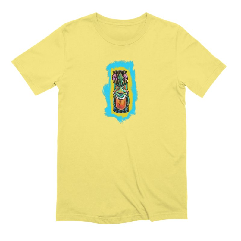 Tongue Tiki Men's T-Shirt by Magichammer Art By Russ Fagle Shop