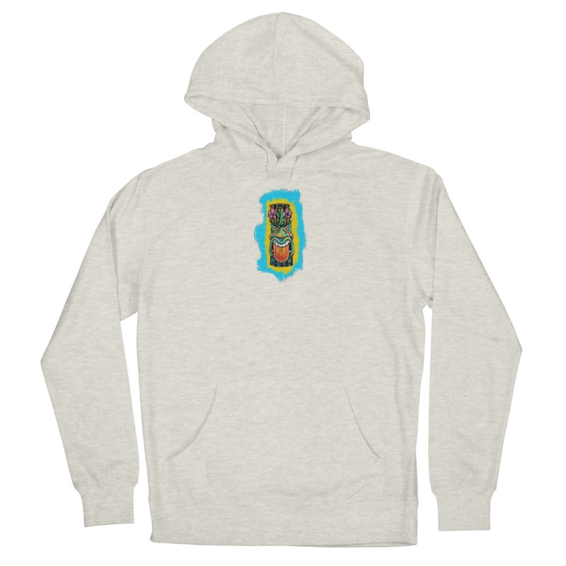 Tongue Tiki Women's Pullover Hoody by Magichammer Art By Russ Fagle Shop