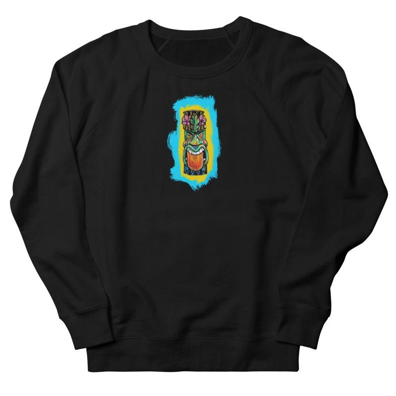 Tongue Tiki Women's Sweatshirt by Magichammer Art By Russ Fagle Shop