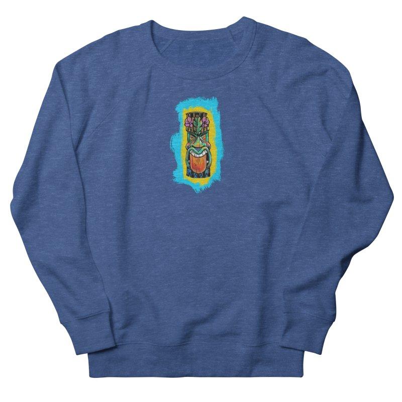 Tongue Tiki Men's Sweatshirt by Magichammer Art By Russ Fagle Shop