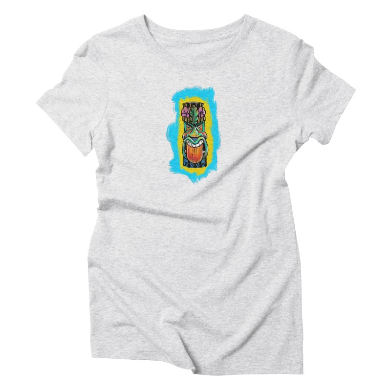 Tongue Tiki Women's T-Shirt by Magichammer Art By Russ Fagle Shop