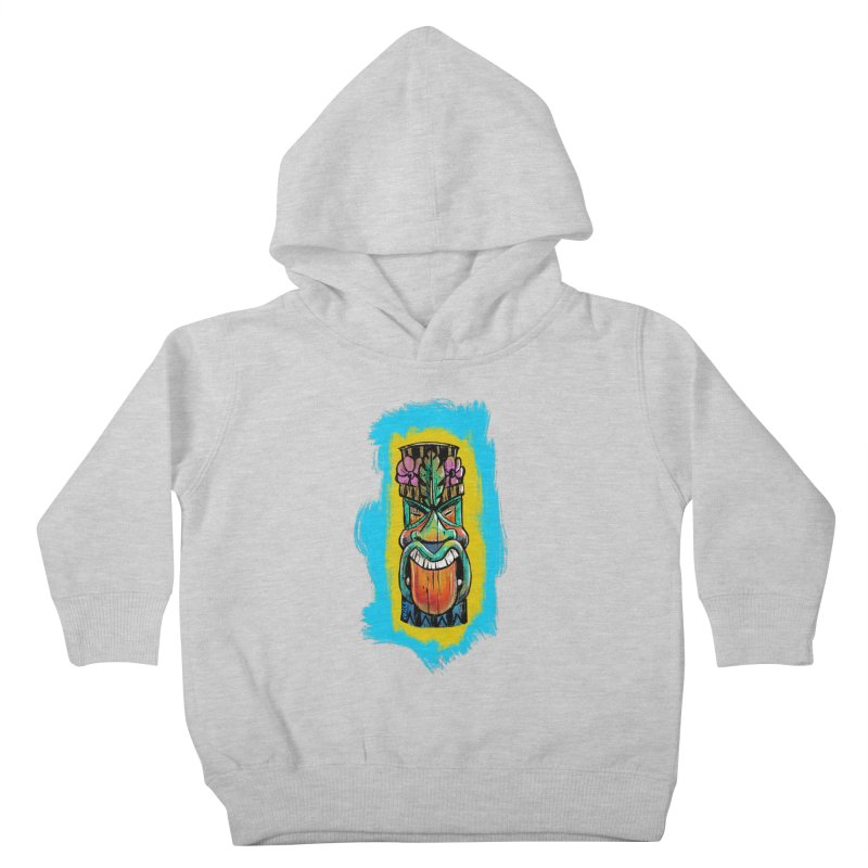 Tongue Tiki Kids Toddler Pullover Hoody by Magichammer Art By Russ Fagle Shop