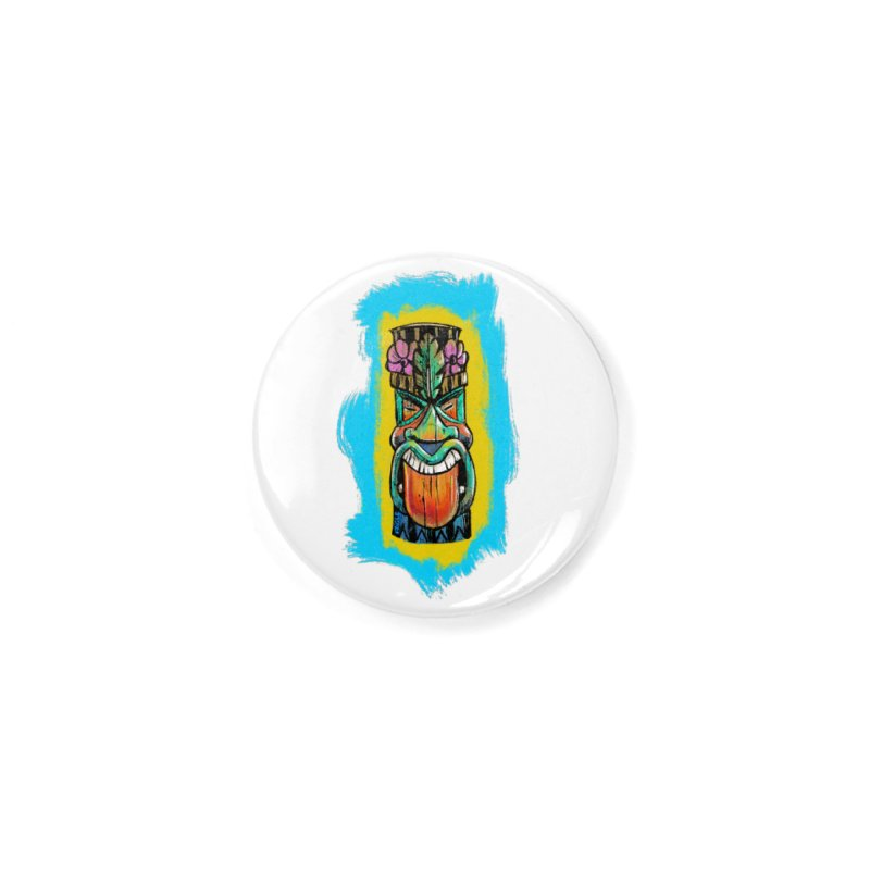 Tongue Tiki Accessories Button by Magichammer Art By Russ Fagle Shop