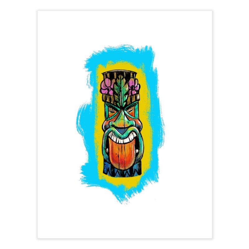 Tongue Tiki Home Fine Art Print by Magichammer Art By Russ Fagle Shop