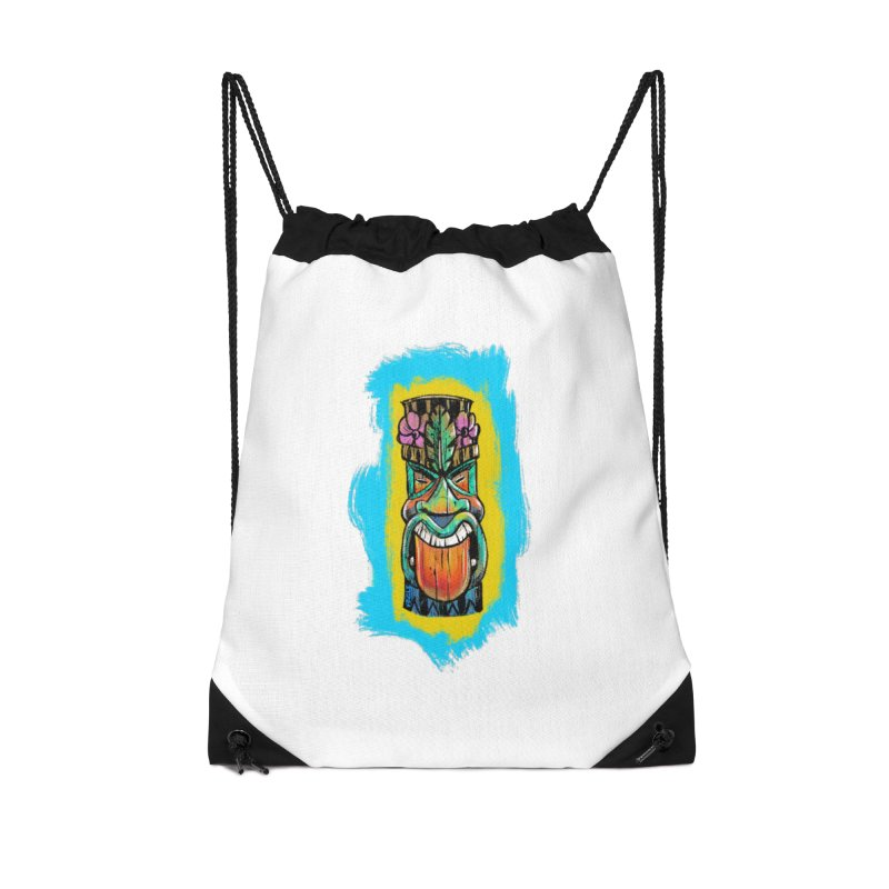 Tongue Tiki Accessories Bag by Magichammer Art By Russ Fagle Shop