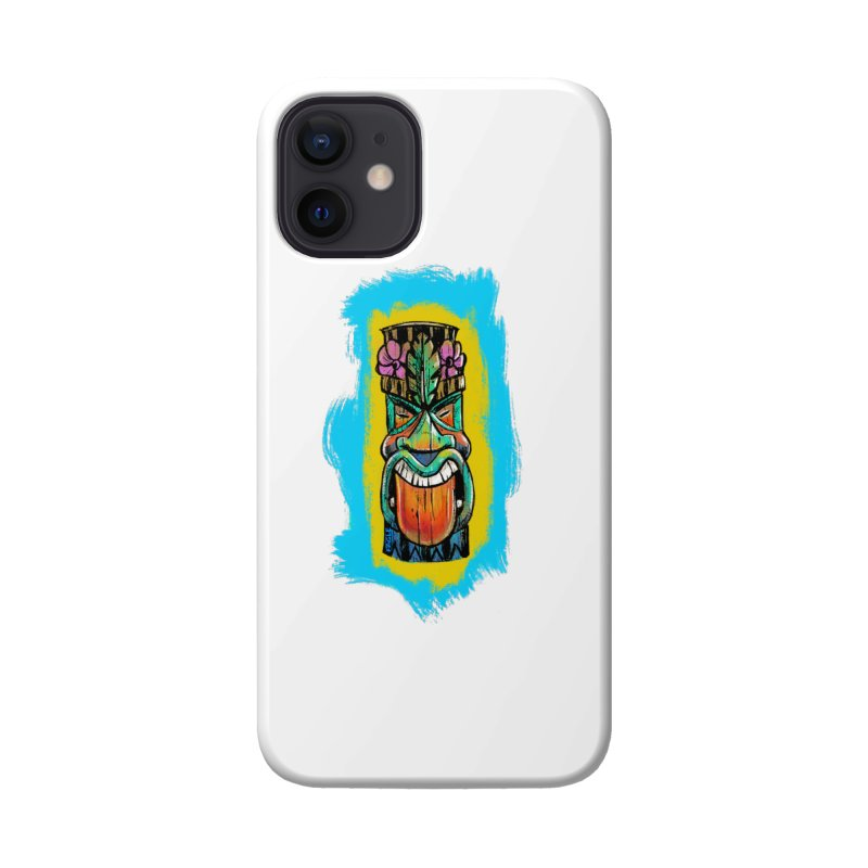 Tongue Tiki Accessories Phone Case by Magichammer Art By Russ Fagle Shop