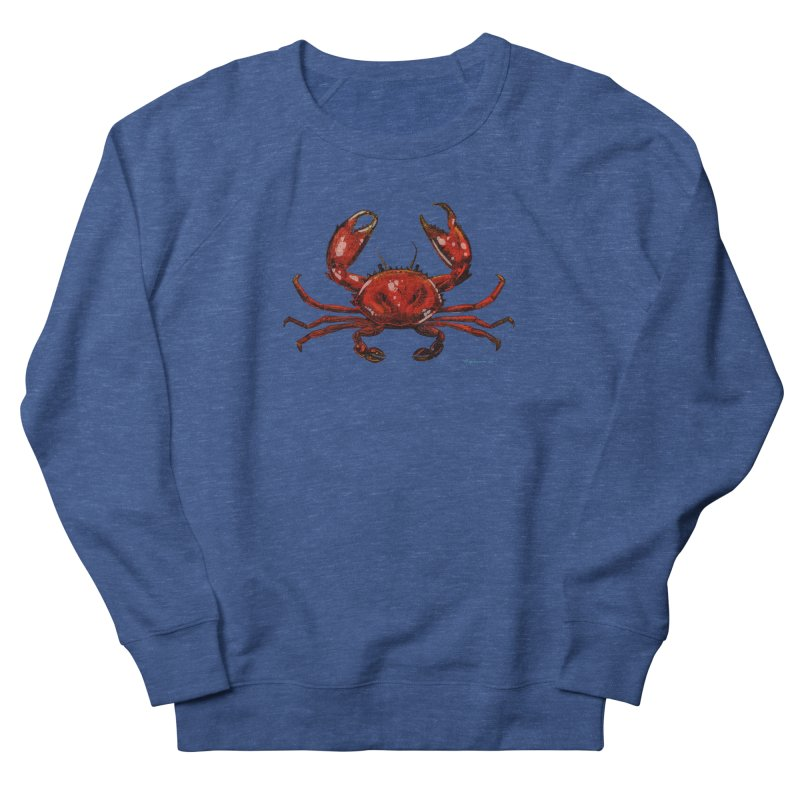 Red Crab Men's Sweatshirt by Magichammer Art By Russ Fagle Shop