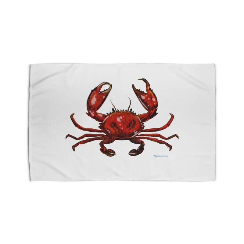 Red Crab Home Rug by Magichammer Art By Russ Fagle Shop