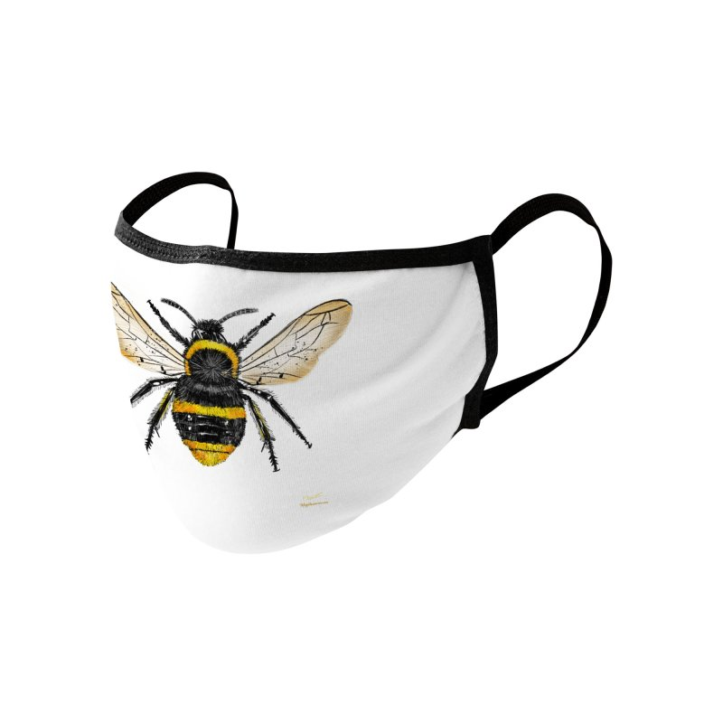 Bee Accessories Face Mask by Magichammer Art By Russ Fagle Shop