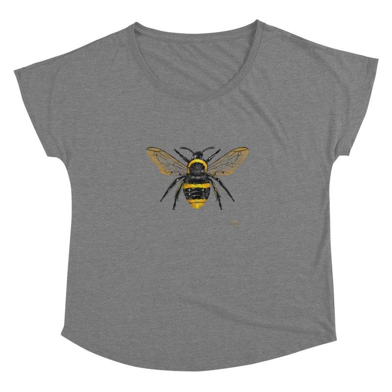 Bee Women's Scoop Neck by Magichammer Art By Russ Fagle Shop
