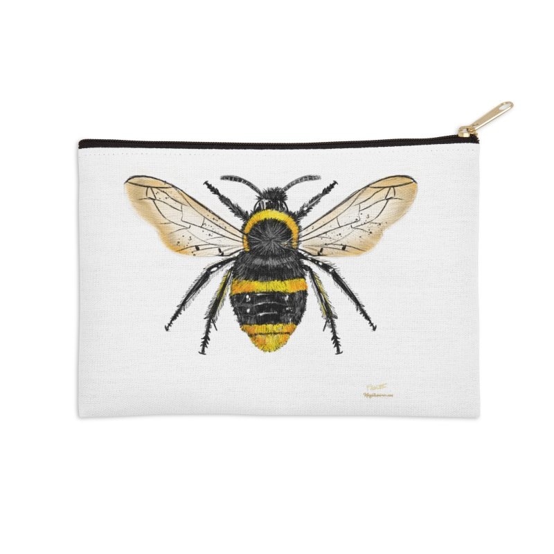 Bee Accessories Zip Pouch by Magichammer Art By Russ Fagle Shop