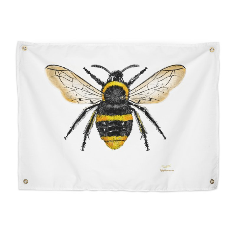 Bee Home Tapestry by Magichammer Art By Russ Fagle Shop