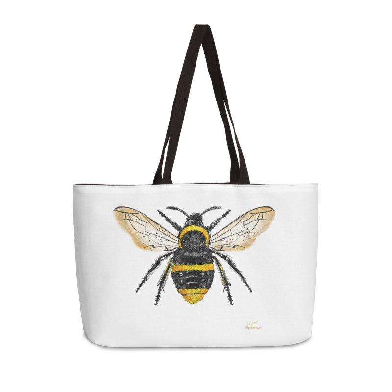 Bee Accessories Bag by Magichammer Art By Russ Fagle Shop