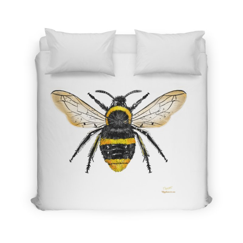 Bee Home Duvet by Magichammer Art By Russ Fagle Shop