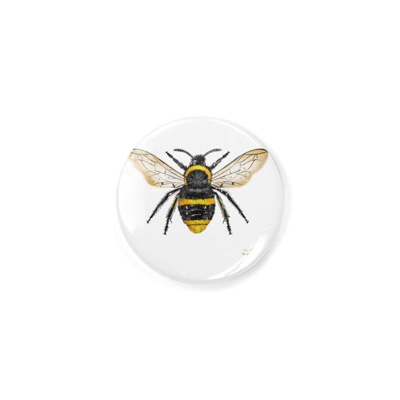 Bee Accessories Button by Magichammer Art By Russ Fagle Shop