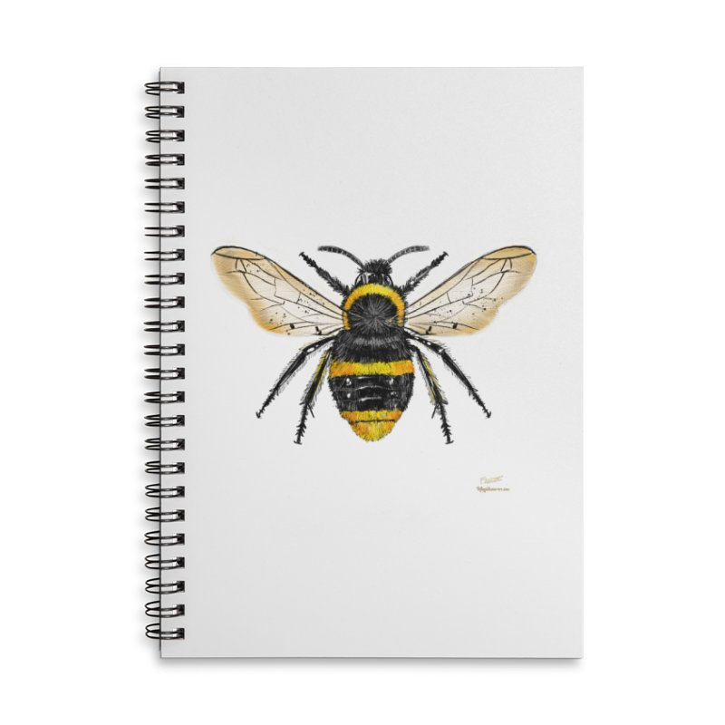 Bee Accessories Notebook by Magichammer Art By Russ Fagle Shop