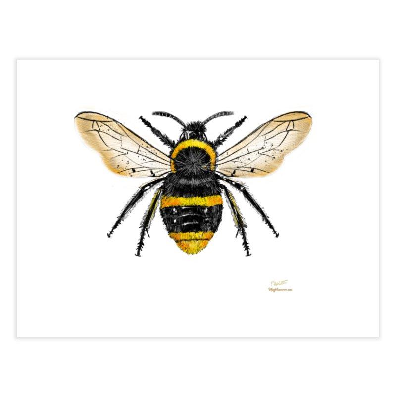 Bee Home Fine Art Print by Magichammer Art By Russ Fagle Shop