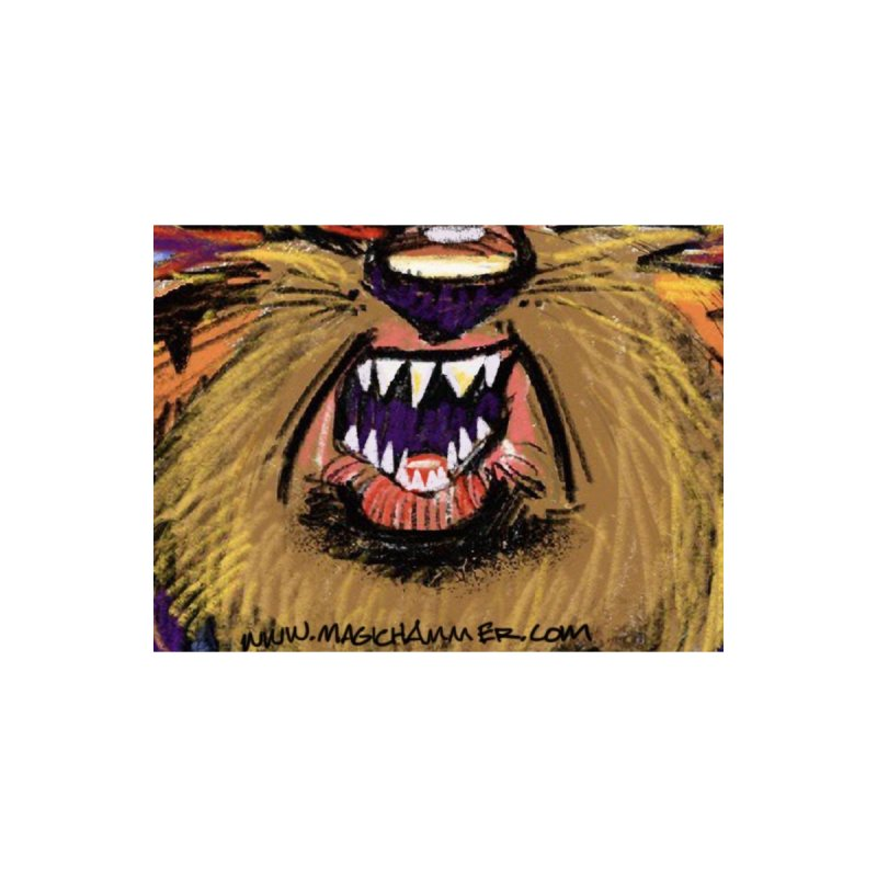 Monster Mask Accessories Face Mask by Magichammer Art By Russ Fagle Shop