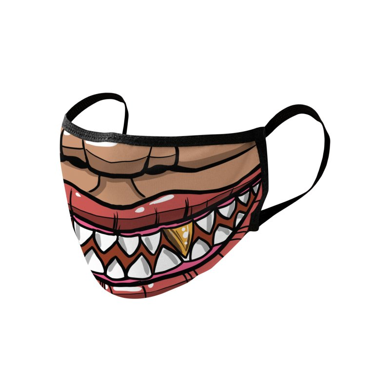 Gold tooth Accessories Face Mask by Magichammer Art By Russ Fagle Shop