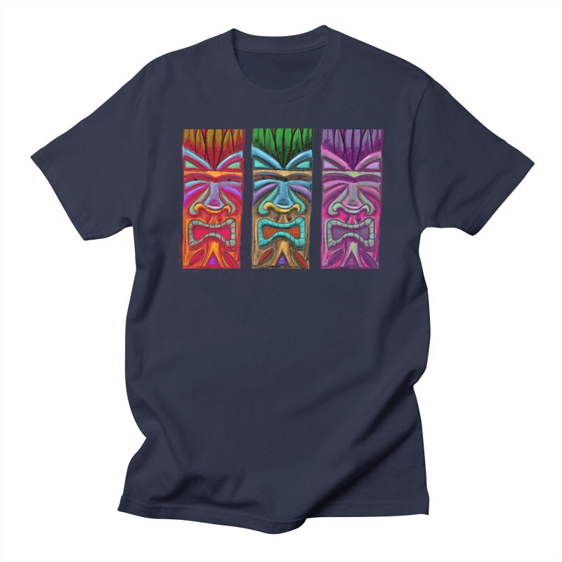 Three Tikis Women's T-Shirt by Magichammer Art By Russ Fagle Shop