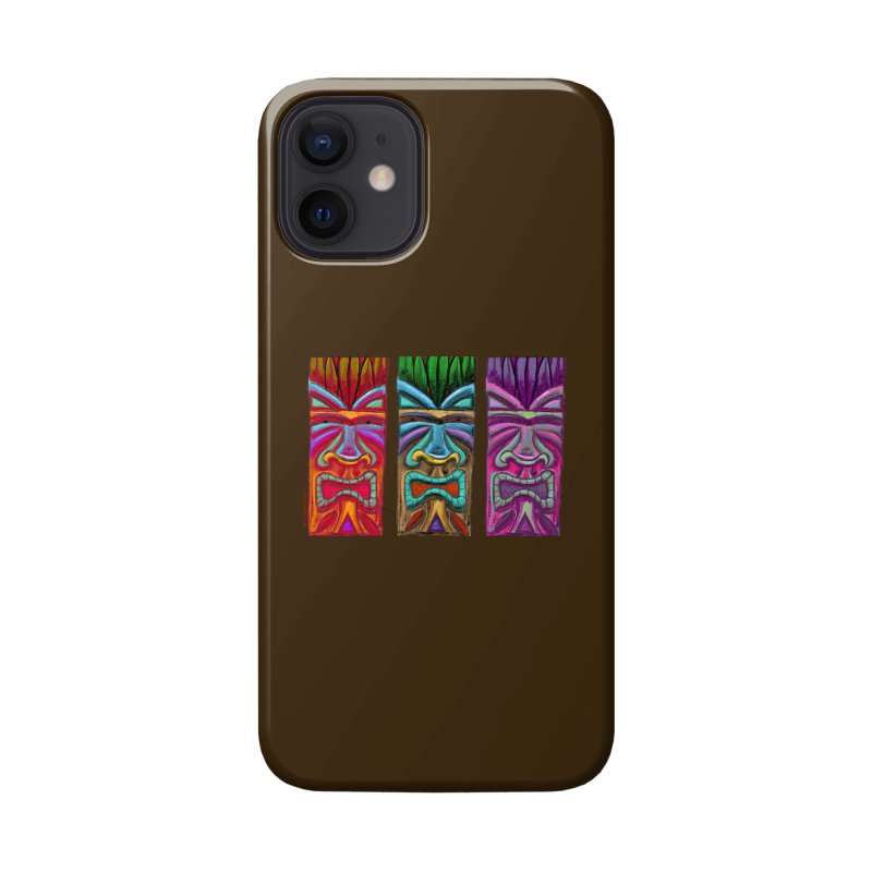Three Tikis Accessories Phone Case by Magichammer Art By Russ Fagle Shop