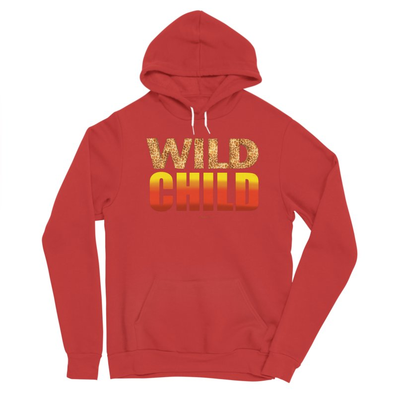 Wild Child Women's Pullover Hoody by Magichammer Art By Russ Fagle Shop