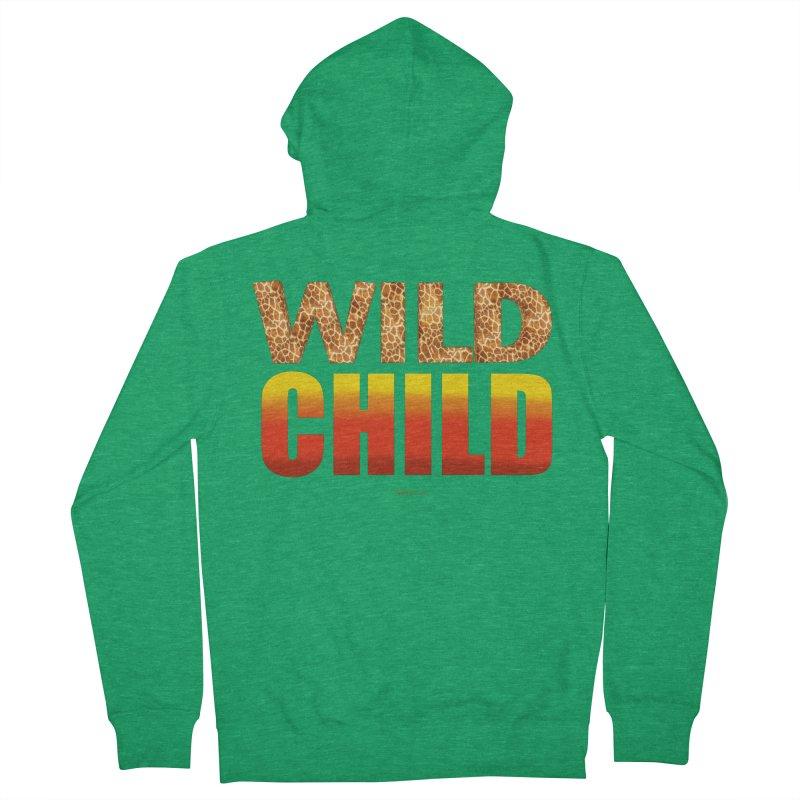 Wild Child Men's Zip-Up Hoody by Magichammer Art By Russ Fagle Shop