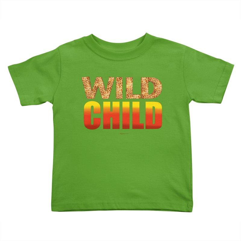 Wild Child Kids Toddler T-Shirt by Magichammer Art By Russ Fagle Shop