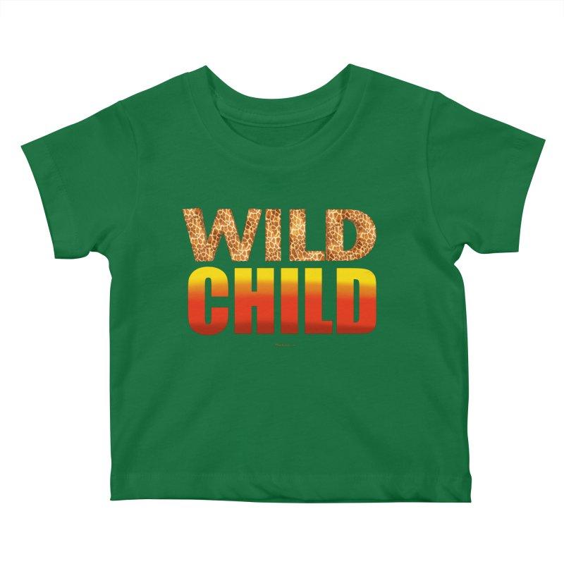 Wild Child Kids Baby T-Shirt by Magichammer Art By Russ Fagle Shop