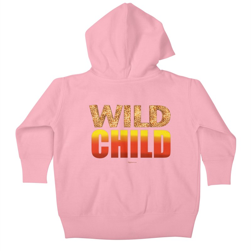 Wild Child Kids Baby Zip-Up Hoody by Magichammer Art By Russ Fagle Shop