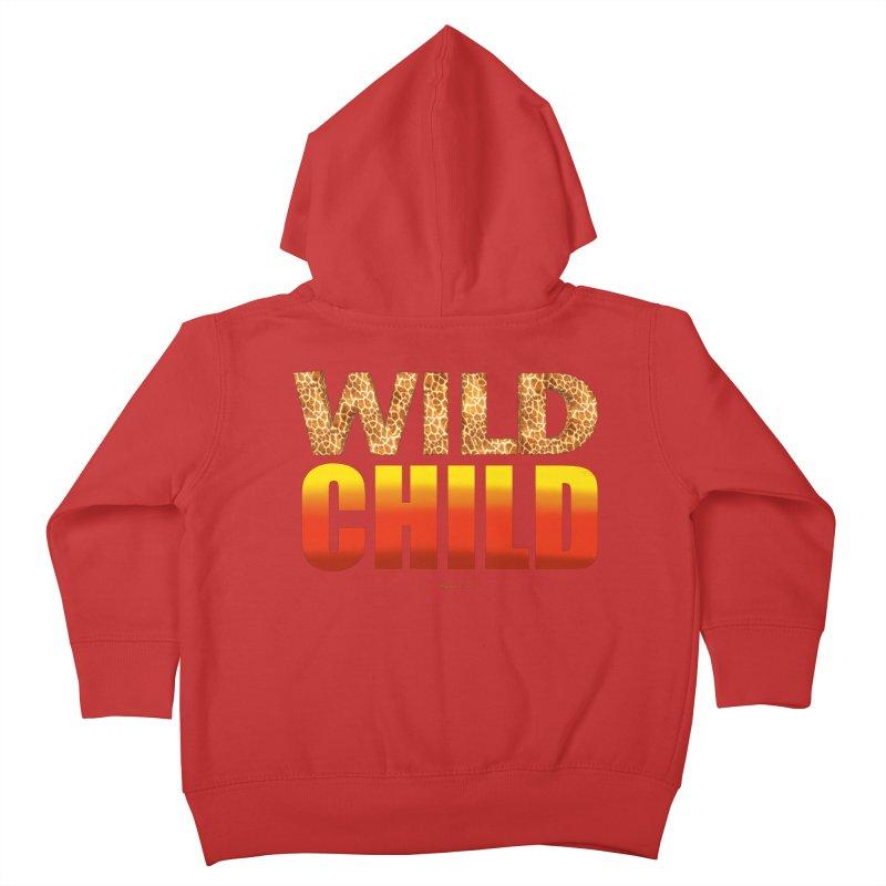 Wild Child Kids Toddler Zip-Up Hoody by Magichammer Art By Russ Fagle Shop
