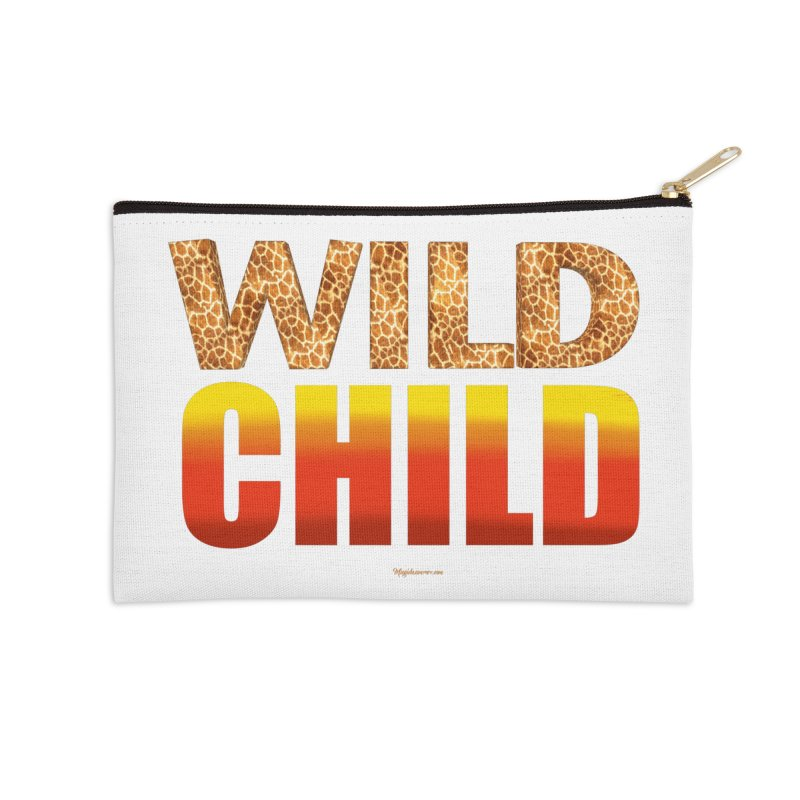 Wild Child Accessories Zip Pouch by Magichammer Art By Russ Fagle Shop