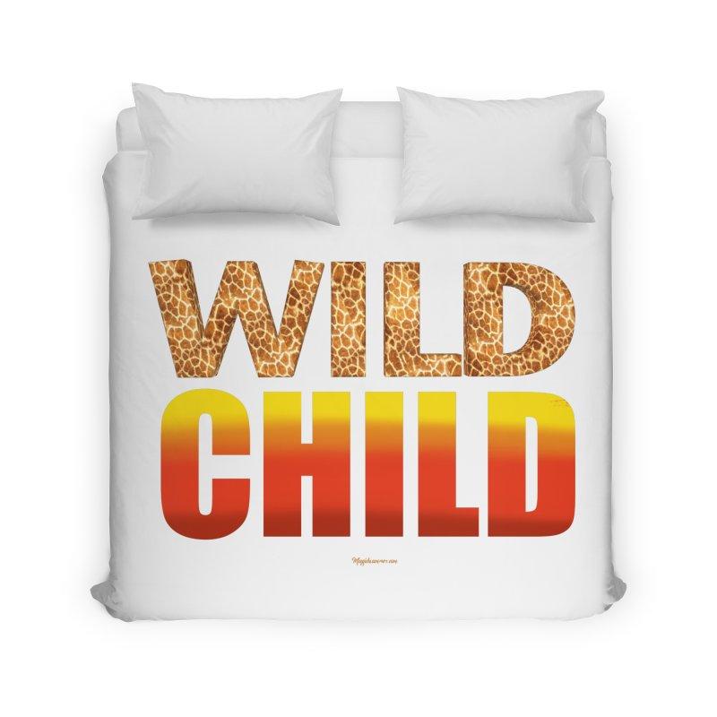Wild Child Home Duvet by Magichammer Art By Russ Fagle Shop