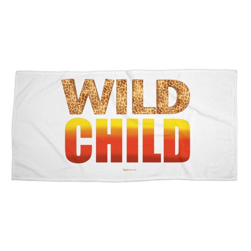 Wild Child Accessories Beach Towel by Magichammer Art By Russ Fagle Shop