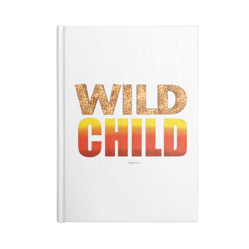 Wild Child Accessories Notebook by Magichammer Art By Russ Fagle Shop