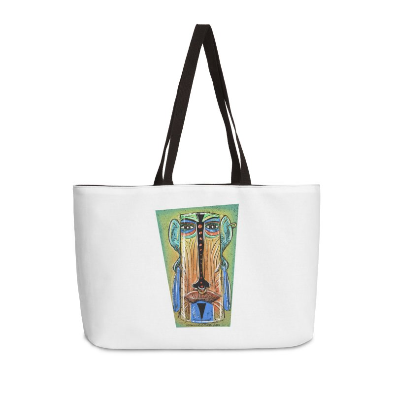 Sketchy Tiki Accessories Bag by Magichammer Art By Russ Fagle Shop
