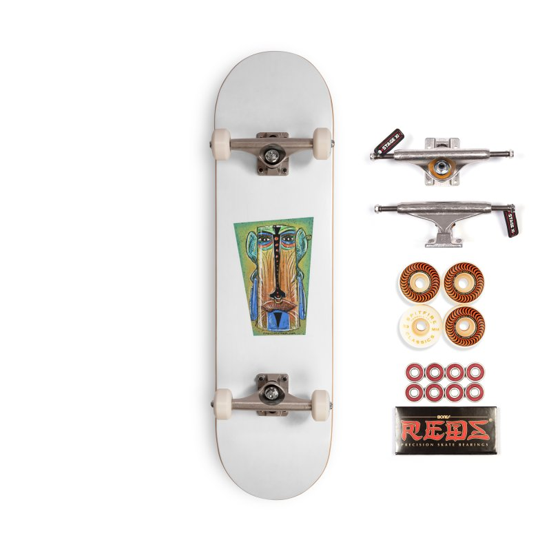 Sketchy Tiki Accessories Skateboard by Magichammer Art By Russ Fagle Shop