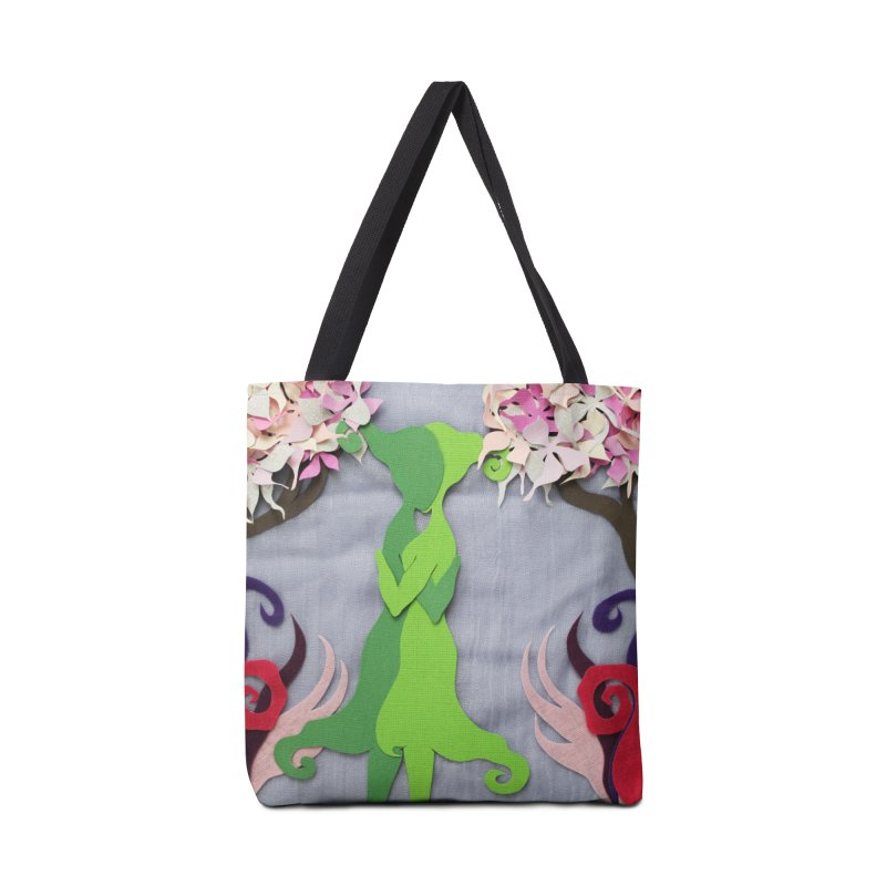 Spring Kiss 2 Accessories Bag by MagpieAtMidnight's Artist Shop
