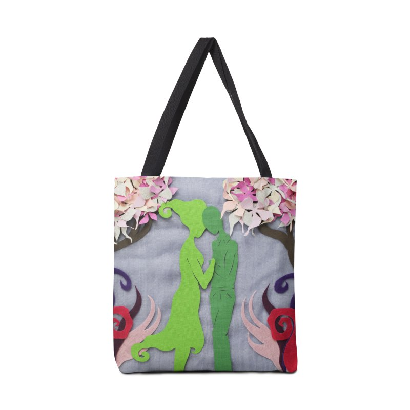 Spring Kiss 3 Accessories Bag by MagpieAtMidnight's Artist Shop