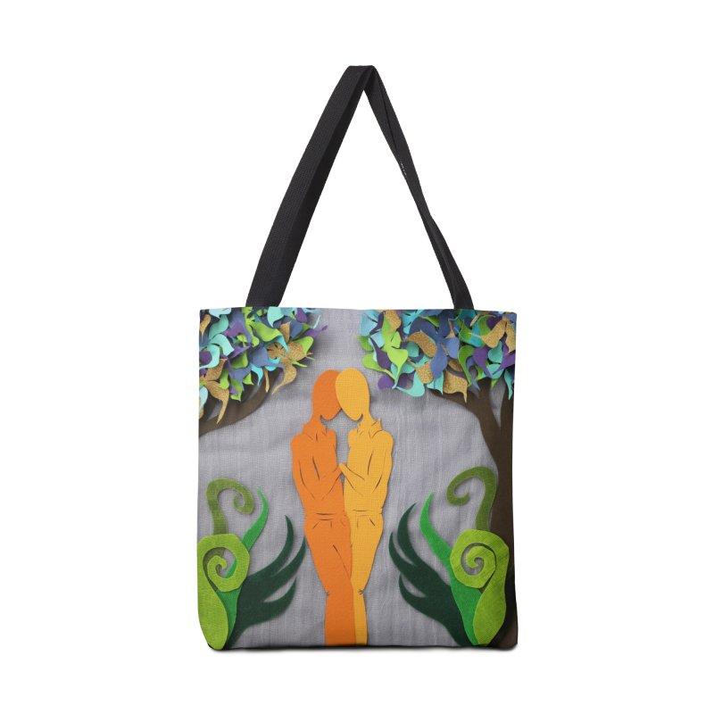 Summer Kiss 1 Accessories Bag by MagpieAtMidnight's Artist Shop