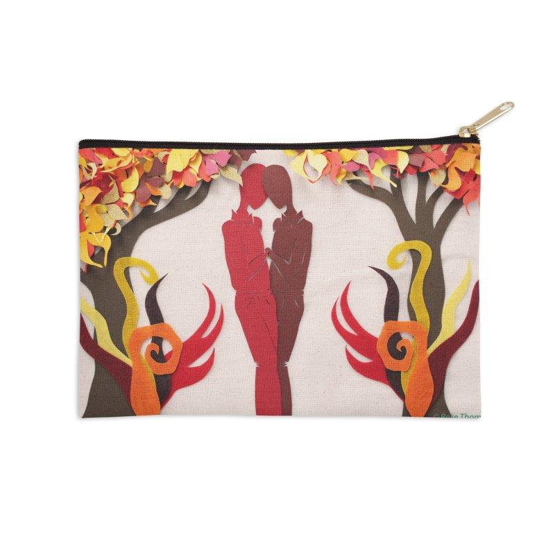 Autumn Kiss 1 Accessories Zip Pouch by MagpieAtMidnight's Artist Shop