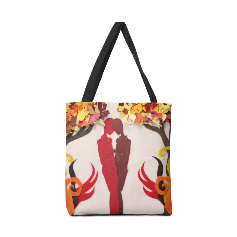 Autumn Kiss 1 Accessories Bag by MagpieAtMidnight's Artist Shop